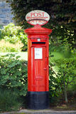 Postbox britânico tradicional Imagem de Stock Royalty Free