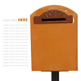 Postbox Royalty Free Stock Photography