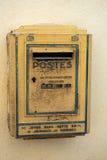 Postbox in Frankreich Lizenzfreies Stockbild