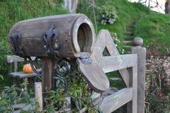 Postbox. Of hobbit Stock Photos
