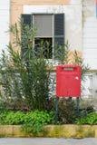 Postbox i Italien Fotografering för Bildbyråer
