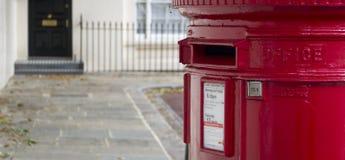 Postbox i London Arkivfoton