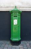 Postbox irlandês Imagem de Stock