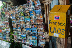 Postbox, Laos. Last postbox station in Laos Royalty Free Stock Image