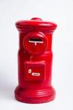 Postbox miniatuur Stock Foto's