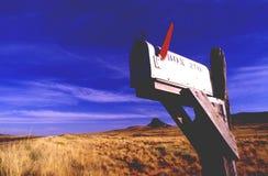 Postbox negli S.U.A. Fotografia Stock