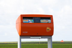Postbox from post.nl Stock Photos