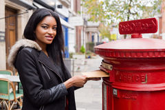 Postbox Royalty Free Stock Images