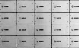 Postboxar arkivfoto
