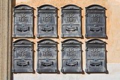 Postboxes. Стоковое Изображение