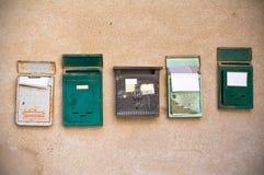 Postboxes. Стоковые Изображения