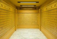 postboxes Lizenzfreies Stockbild