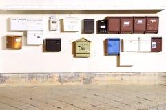 Postboxes/Briefkästen/Briefkästen Lizenzfreie Stockbilder