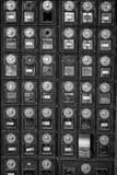 Postboxes del metallo Immagini Stock Libere da Diritti