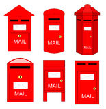 Postboxes Stock Photography