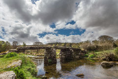 Postbridge royalty free stock image