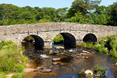 Postbridge Dartmoor National Park Devon England UK stock photography