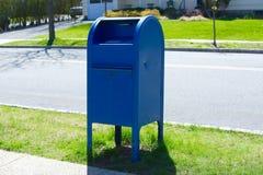 Postbriefkasten stockbilder