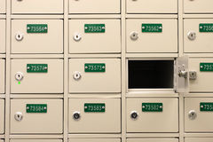 Postbus Stock Foto's