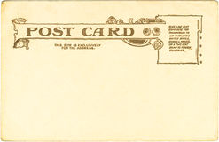 Postcard - 1905 Royalty Free Stock Photography