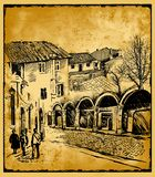Postcard Stock Image