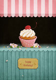 Postcard  Birthday Royalty Free Stock Photography