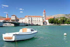 Postcard from Croatia, Trogir Royalty Free Stock Photography