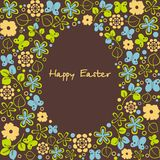 Postcard on Easter Royalty Free Stock Images