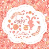 Postcard with Easter Royalty Free Stock Image