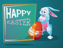 Postcard with an Easter bunny Royalty Free Stock Photo