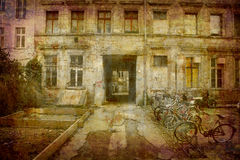Postcard from Germany (series) royalty free stock images