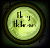 Postcard on Halloween. Stock Images