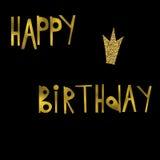Postcard happy birthday Royalty Free Stock Image