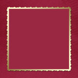 Postcard-invitation To The Claret Background Stock Images