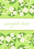 Postcard with jasmine Royalty Free Stock Photography