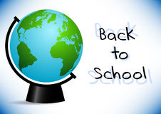 Postcard for Knowledge Day. Back to school illustration Royalty Free Stock Images