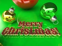 Postcard - Merry Christmas 2016 Stock Image