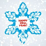 Postcard for new year Royalty Free Stock Photo