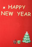 Postcard for the new year Royalty Free Stock Photography
