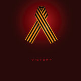 Ribbon Saint George - victory Royalty Free Stock Photography