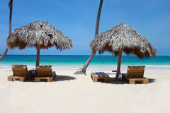 Postcard from Punta Cana. The Dominican Republic royalty free stock photos