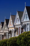 Postcard Row, San Francisco Stock Photography