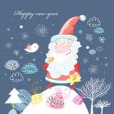 Postcard from Santa Claus Stock Photo