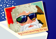 Postcard from Santa Claus Stock Photography
