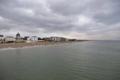 Postcard from the sea, UK coast Stock Image