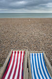 Postcard from the sea, UK coast Stock Images