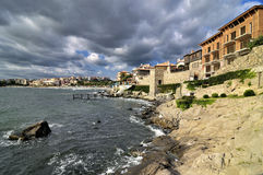 Postcard from Sozopol Stock Images
