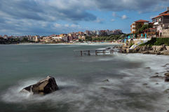 Postcard from Sozopol Royalty Free Stock Images