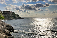 Postcard from Sozopol Royalty Free Stock Photography