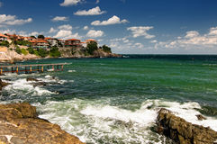 Postcard from Sozopol Stock Image